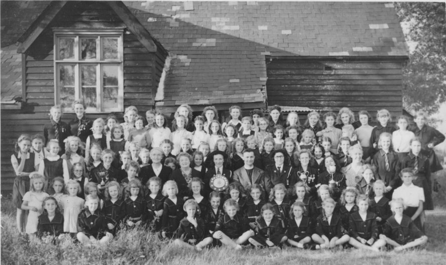 2nd Canvey Girls Life Brigade Village Hall early 40s | Joyce Cowell