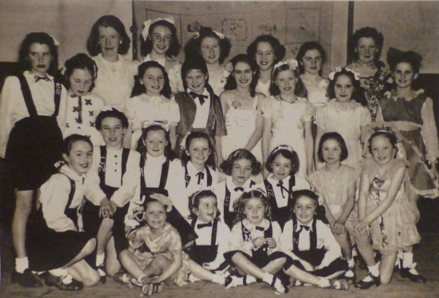 Kindly lent to us by Jessica Thorndike nee Evans who is in the second row from the front, second from the left. | Jessica Thorndike
