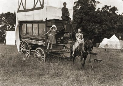 Travellers on Canvey