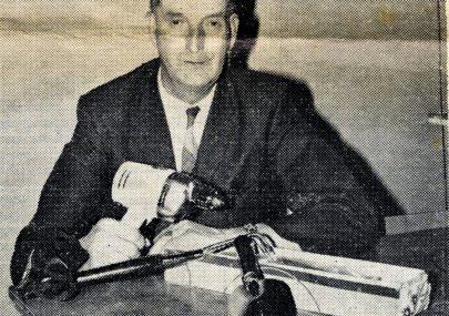 Mr J W Eales Retires