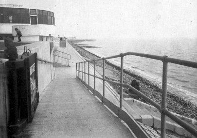 Labworth and new seawall