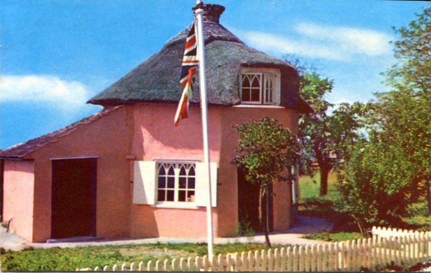 Valentine Card of the Dutch Cottage