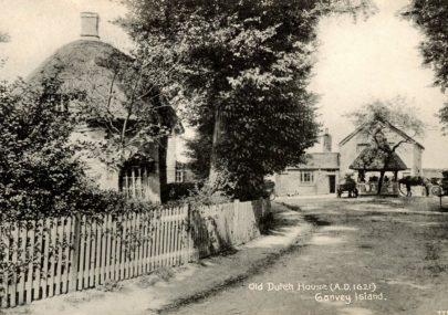 Three Early Village Postcards