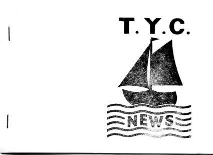 Tewkes Yatch Club Newsletter