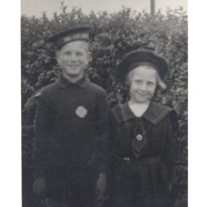 Graham Stevens - Life Boy and Jenny Stevens - Girls LB   Stevens