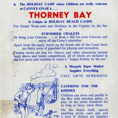 A Holiday Camp by the Sea