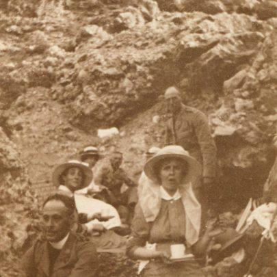 Picnicking at Ghajn Tuffieha, Malta 1916