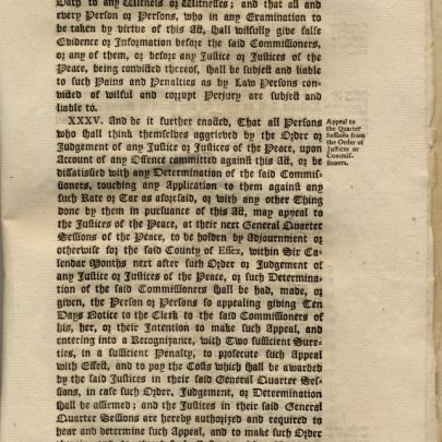 1792 Act ; Original Copy.