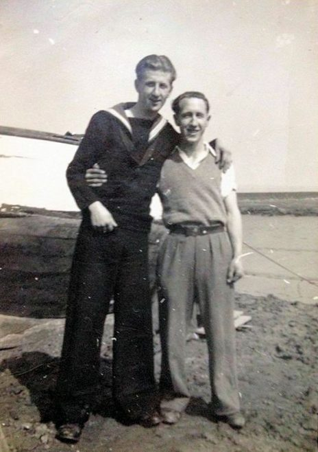 Dad with his great friend Jack Fenwick. About 1948 | Jane Parkin