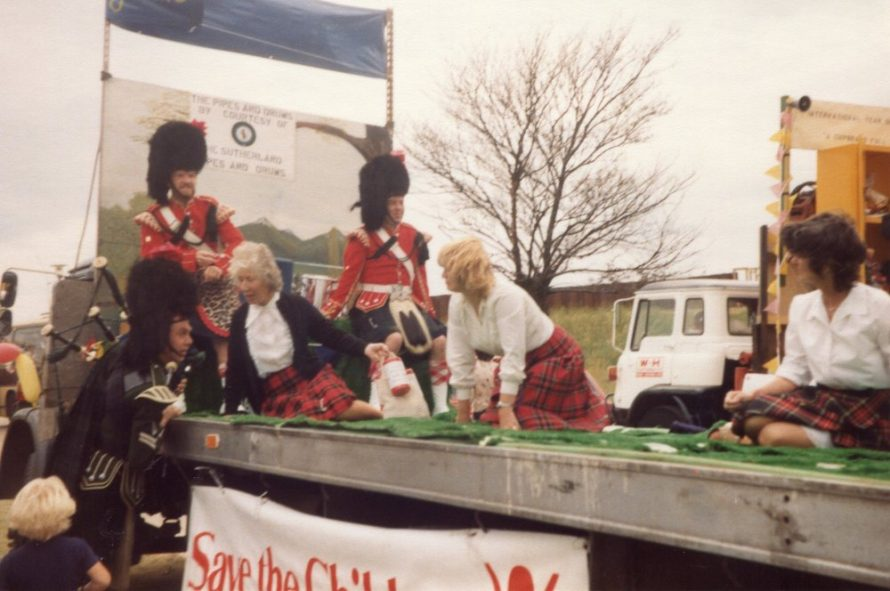 Canvey's Save The Children Fund Group and the Sutherland Pipe and Drums join forces | Phyllis Owens