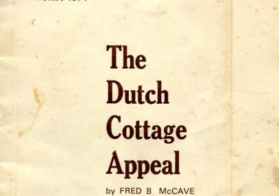 The Dutch Cottage Appeal