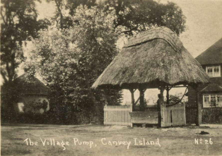 Village Pump and Dutch Cottage