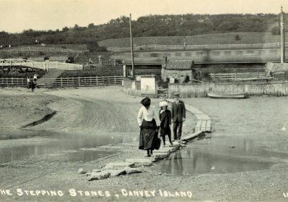 Two Postcards of the Crossing