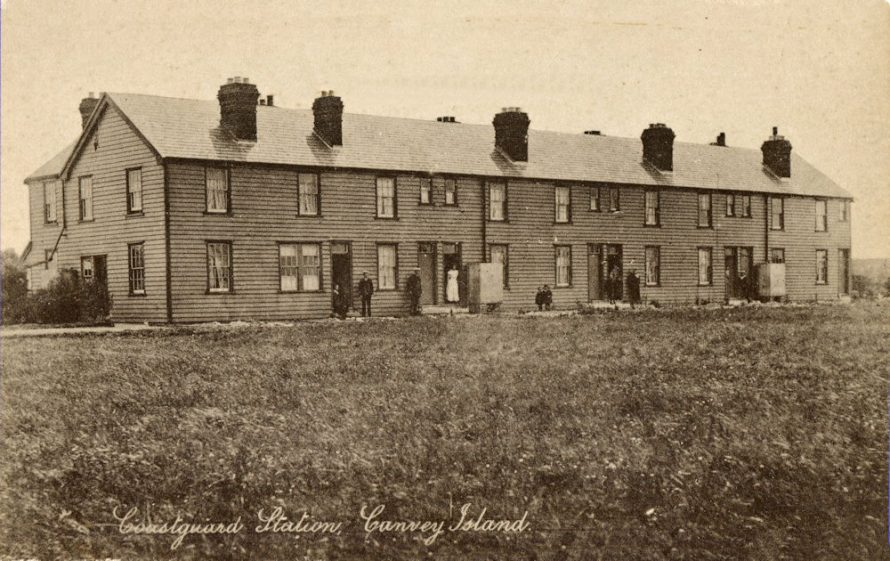 Coastguard Cottages Early 1900s