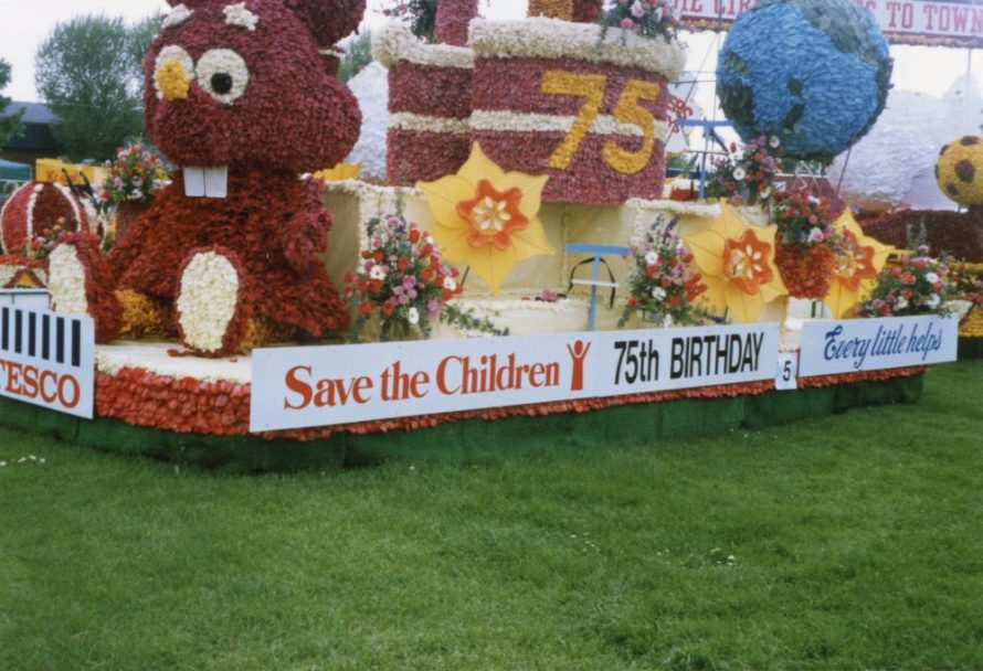 Save the Children Fund Canvey Groups Carnival Float | Phyllis Owens