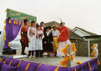 Carnival pictures from the 1980s