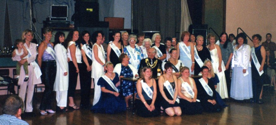 Canvey's Carnival Queens and Princesses