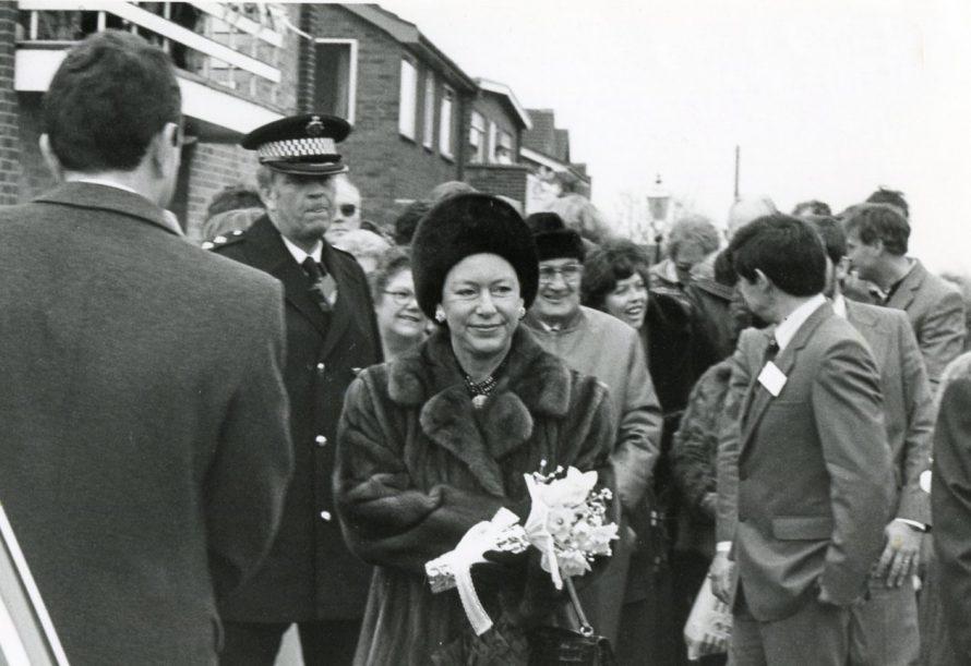 Princess Margaret's Visit   Echo Newspaper Archive