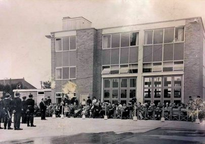 Possibly the Opening of The Fire Station
