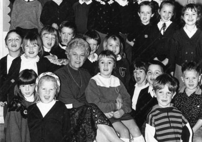 Head Teacher Retires 1991
