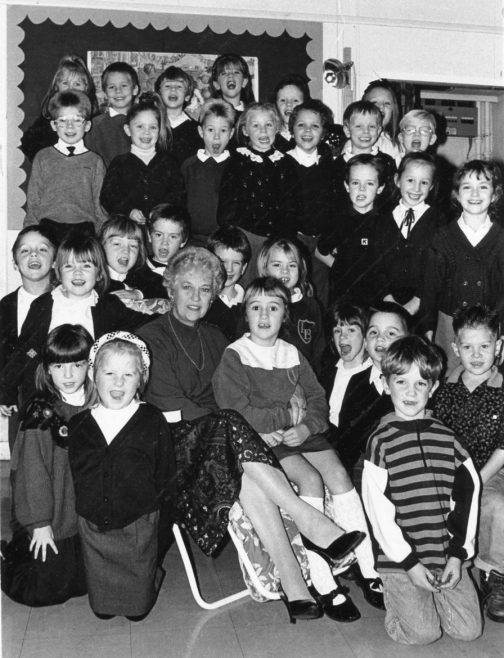 Head Teacher Retires 1991 | Echo Newspaper Archive