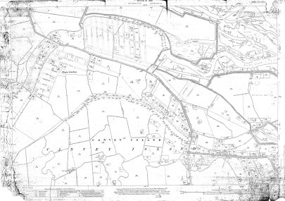 Map dated 'Edited 1923'