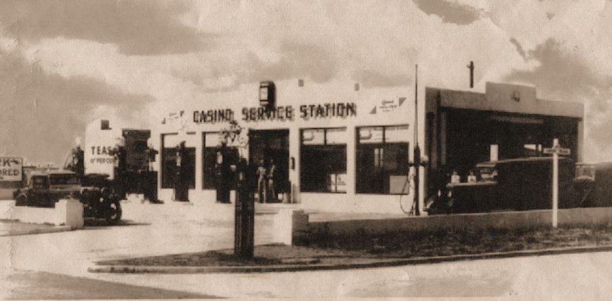 Casino Service Station