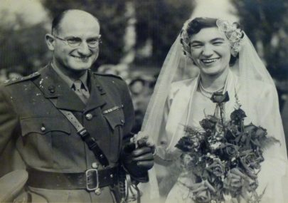 Lt. Col. Horace Percy Fielder's Wedding Day