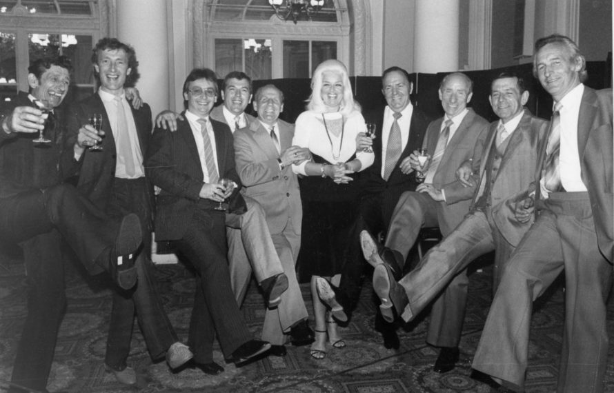 The nine man syndicate with Diana Dors | Echo Newspaper Group