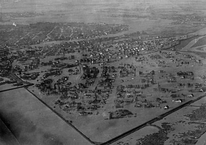 Aerial View of Flooded Canvey