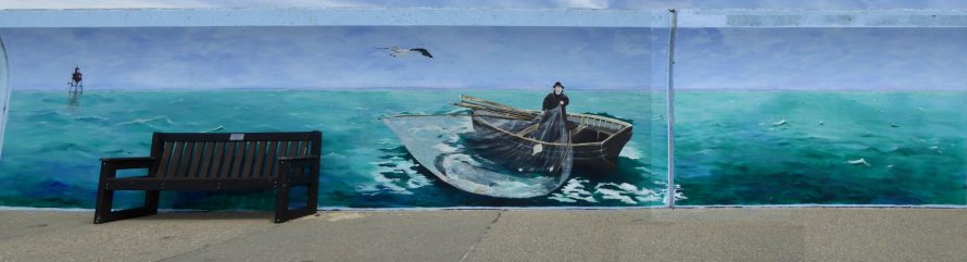New Mural at Thorney Bay