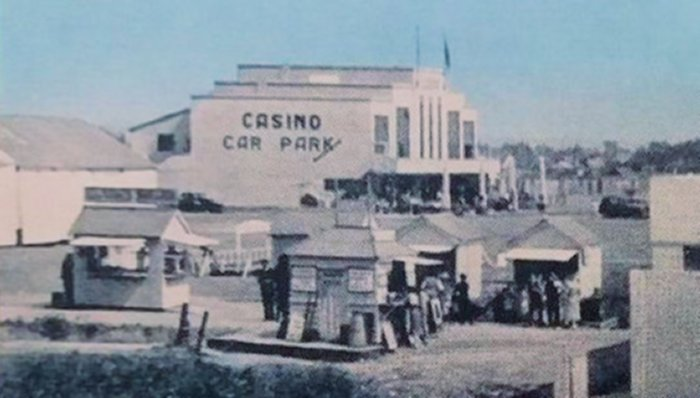Casino and Labworth Postcard