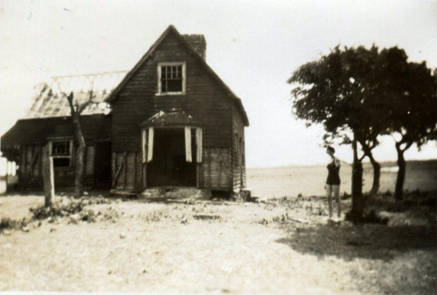 A derelict Farmhouse at Northwick