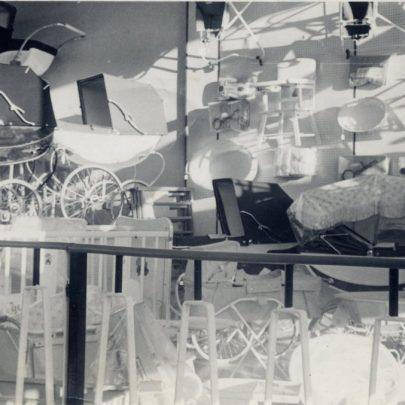 The Prams upstairs in the Furtherwick shop | Miriam Litman