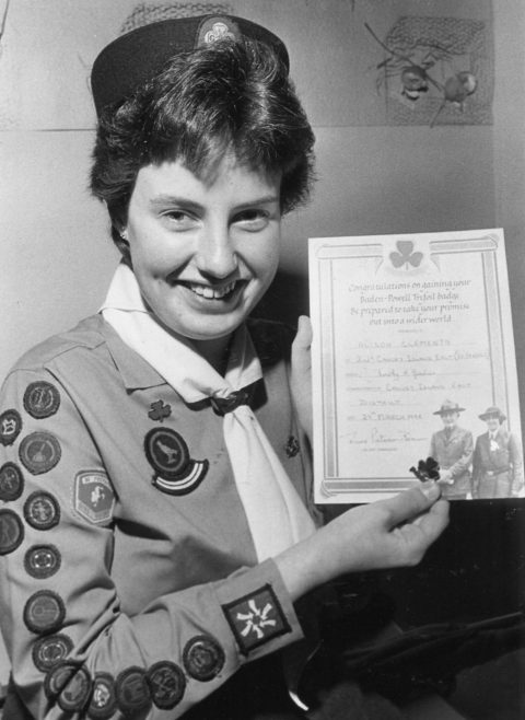 Baden Powell Award | Echo Newspaper Archive