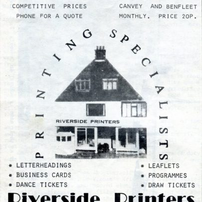 Riverside Printers the domain of Fred McCave