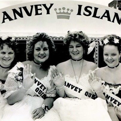 1991 Karen Woodberry, Suzanne Knox, Samantha Butcher and Andrea Lloyd