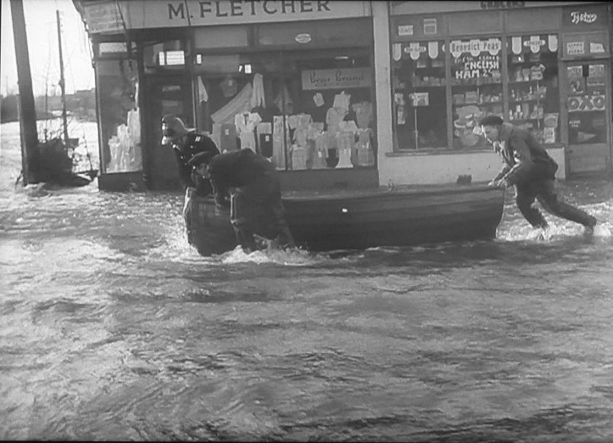 Shops in the Flood
