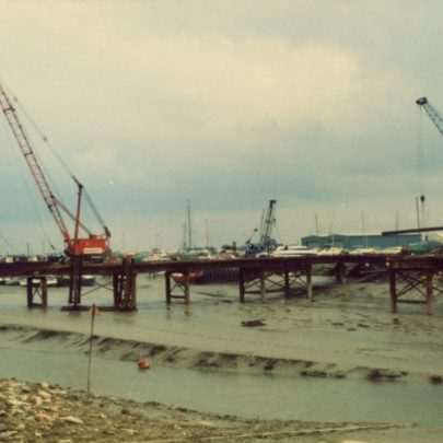 The Building of the Benfleet-Canvey Flood Barrier