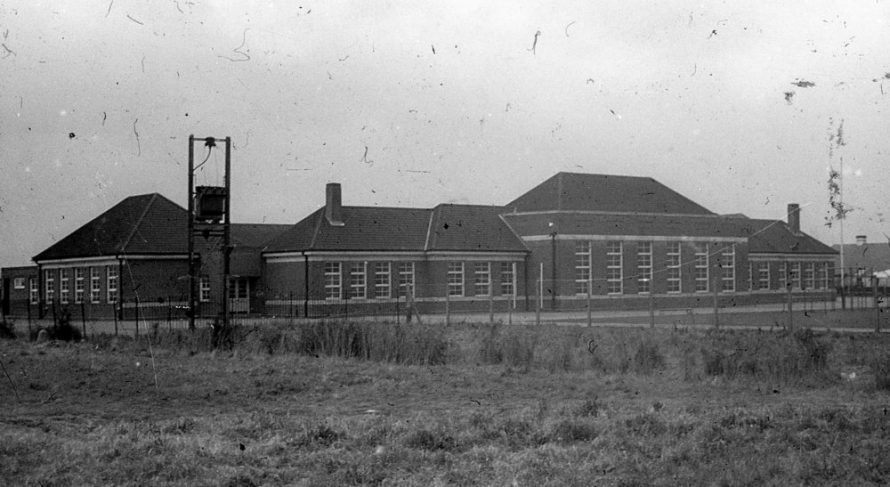The school from the front   Norman Chisman