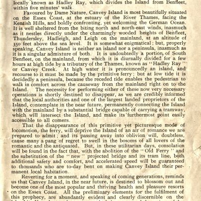 01 - The History Of Canvey Island 1901