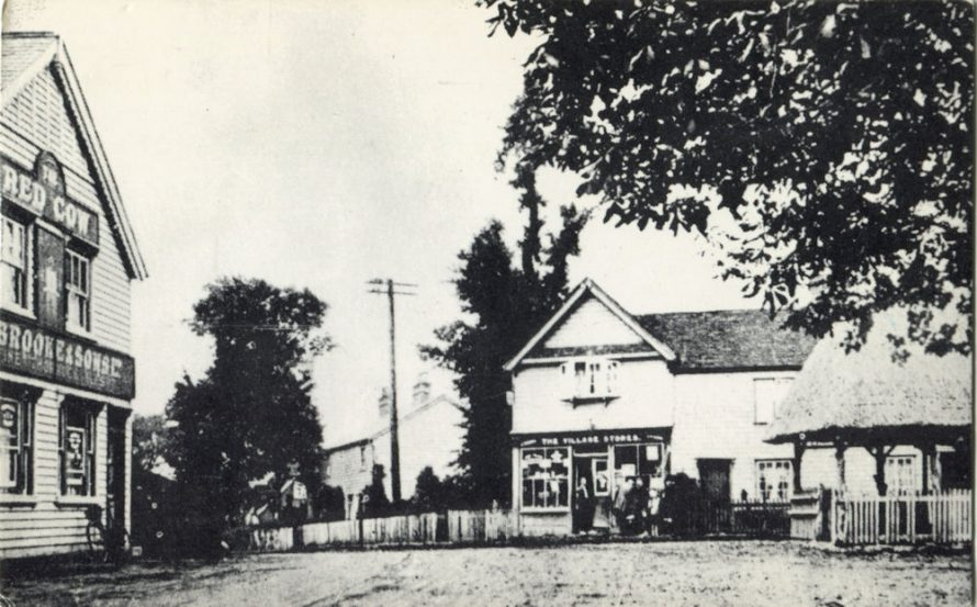 Village pub a, PO and pump