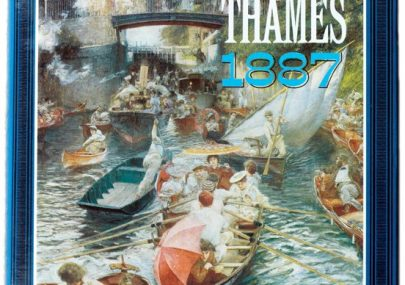'History of the Thames, 1887, from it's source to the Nore'