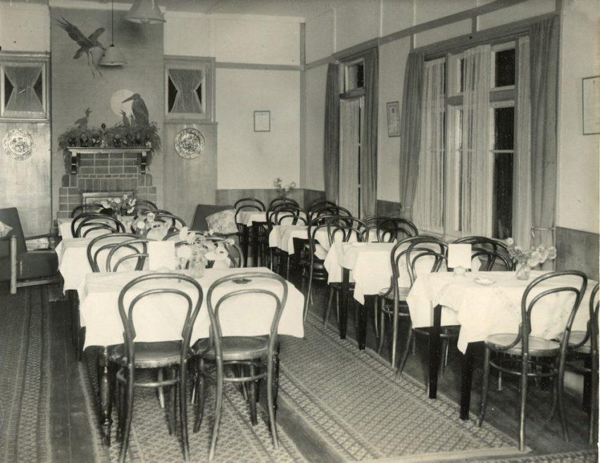 Inside Cox's Restaurant?