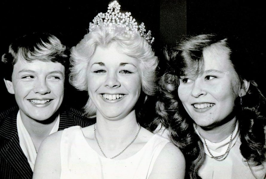 1984 Carnival Court Zena Robertson, Susan Dallas and Yvette Bugden
