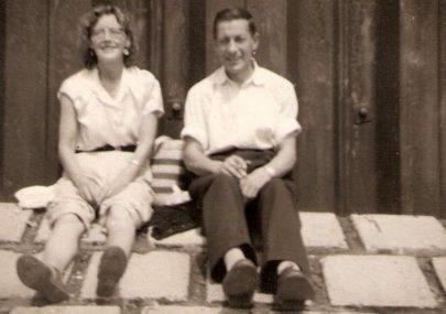 Peter Wonnacott and family