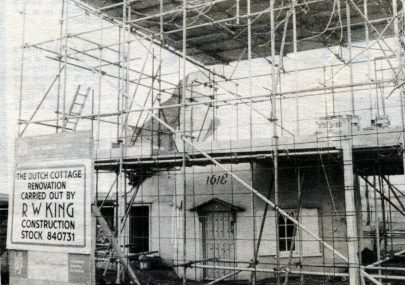 Raising the Roof on Dutch Cottage