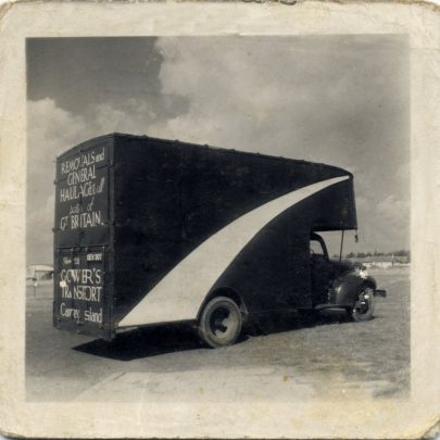 This was my very first Removal Van'Chevrolet' Ex Army modified. Bought it from Claxton's with the 'A' Licence | Bill Gower