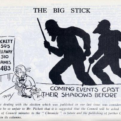 Canvey Chronical Cartoons 1933