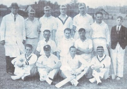 Formation of the First Canvey Island Cricket Club